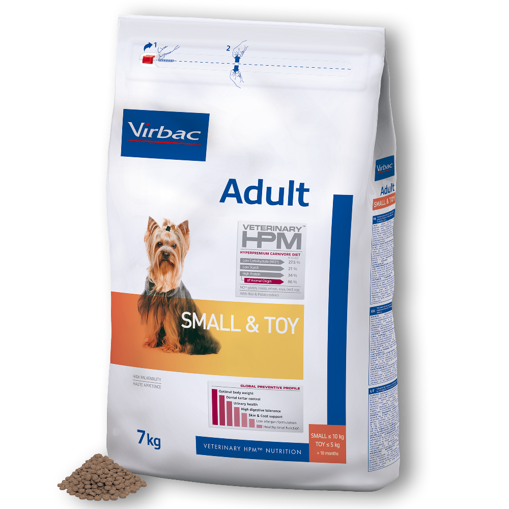 Adult Dog Small & Toy von Virbac