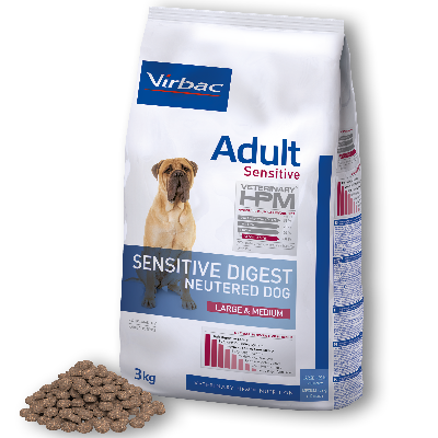 Adult Sensitive Digest Neutered Dog Large & Medium von Virbac